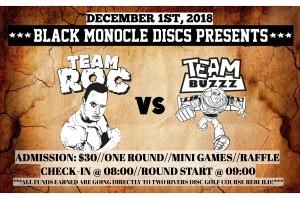 Roc vs Buzzz Challenge --- Presented by Black Monocle Discs graphic