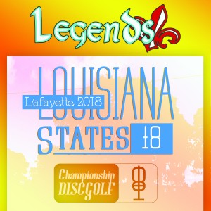 2018 Legends of Lafayette Louisiana State Championships graphic