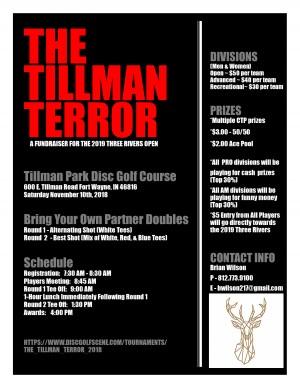 The Tillman Terror graphic