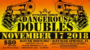 5th Annual Dangerous Doubles presented by Latitude 64 graphic