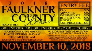 Faulkner County Classic Sponsored by Dynamic Discs graphic