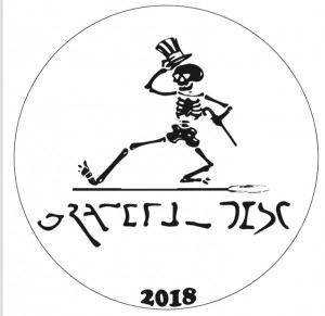 41st Grateful Disc Limited Edition 2018 graphic