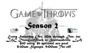 Game of Throws Season II Five-Week Pass graphic