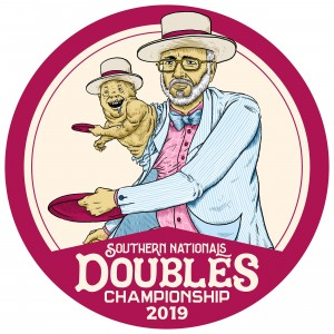 2019 Southern Nationals Doubles Championships Presented by Discraft graphic