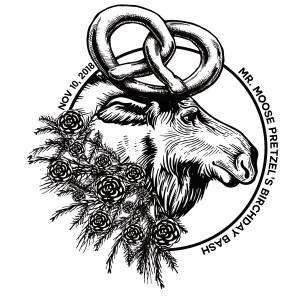 Mr. Moose Pretzel's Birchday Bash graphic