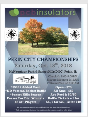 The Pekin City Championships graphic
