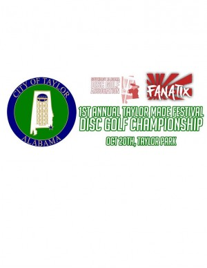 Taylor Made Festival Disc Golf Championship graphic