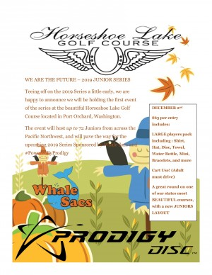 We Are The Future JUNIOR SERIES KICKOFF sponsored by Whale Sacs and #PoweredByProdigy graphic