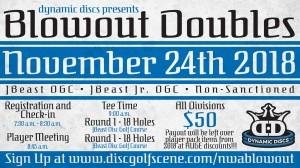 Dynamic Discs Northwest Arkansas Blowout Doubles graphic
