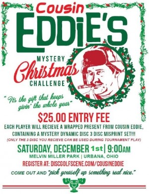 2018 Cousin Eddie's Mystery Christmas Challenge graphic