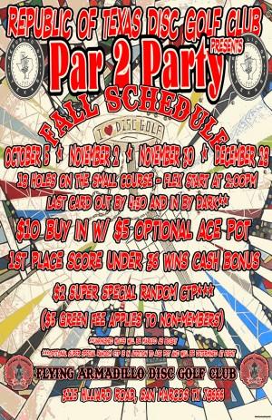 par 2 Party w/$100 first place and $400 bonus graphic