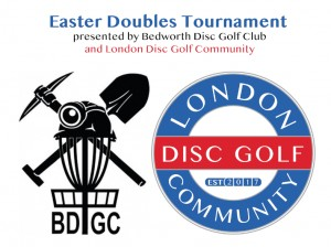 Easter Doubles Tournament presented by Bedworth Disc Golf Club and London Disc Golf Community graphic