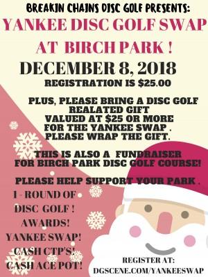 Yankee Disc Golf Swap At Birch Park graphic
