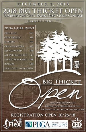 Big Thicket Open graphic