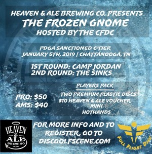 The Frozen Gnome Presented by Heaven & Ale Brewing Co. graphic