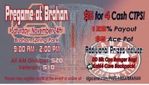 Pre-Iron Bowl Flex Start at Brahan graphic