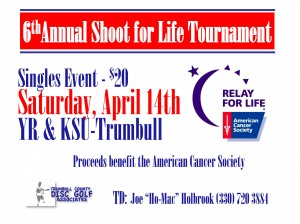 6th Annual Shoot For Life Tournament graphic
