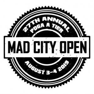 27th Mad City Open PDGA A Tier graphic