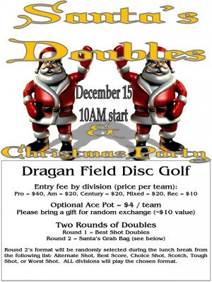 Santa's Doubles 2018 graphic