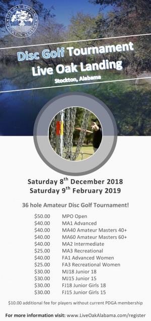 Live Oak Landing 2018 Delta Amateur Shootout graphic