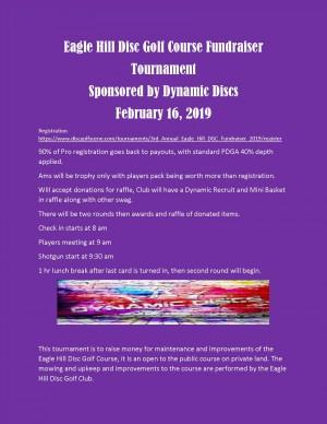 3rd Annual Eagle Hill DGC Fundraiser graphic
