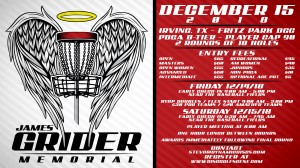 Dynamic Discs Presents the James Grider Memorial graphic