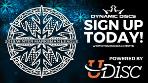 Winter Marksman Leagues Presented by Dynamic Discs powered by Udisc graphic