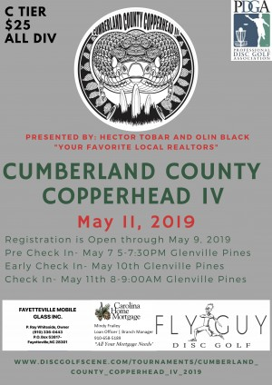 Cumberland County Copperhead IV Sponsored by Hector and Olin graphic