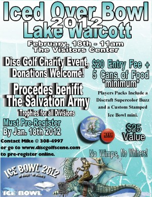 2nd Annual Lake Walcott Iced Over Bowl graphic