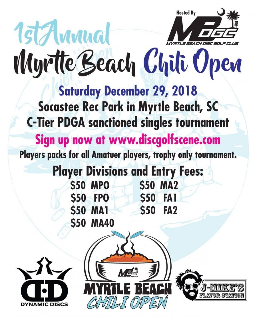 Myrtle Beach Chili Open Graphic