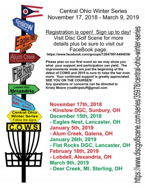 C.O.W.S (Central Ohio Winter Series) Event #3 graphic