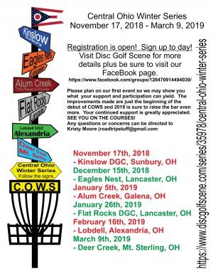 C.O.W.S (Central Ohio Winter Series) Event #6 graphic