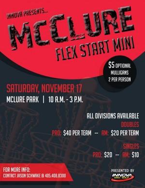 McClure Flex Start SINGLES graphic