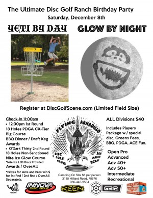 Yeti by Day / Glow by Night graphic