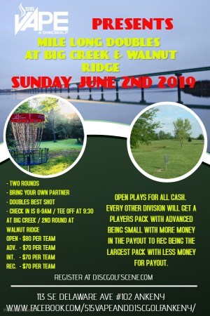 Mile-Long Dubs Presented by 515 Vape and Disc Golf graphic