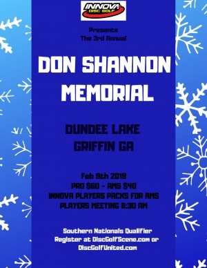 The Donald Shannon Memorial presented by Innova graphic