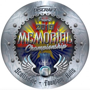 Memorial Championship presented by Discraft - 40+ Pro & Amateurs graphic