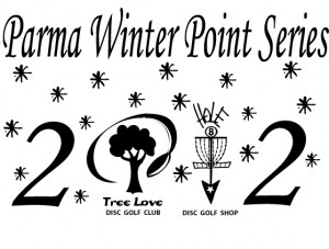 Parma 2012 Winter Points Series Sponsored by Treelove & HOLE8 graphic