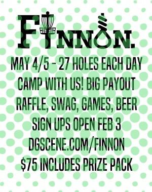 3rd Annual Finnon Open graphic