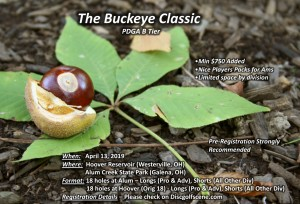 The Buckeye Classic presented by Discraft graphic