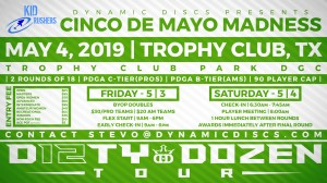 Dynamic Discs Presents the Cinco De Mayo Madness graphic