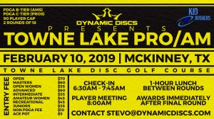 Dynamic Discs Presents the Towne Lake Pro/Am graphic