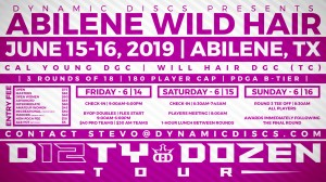 Dynamic Discs Presents the Abilene Wild Hair graphic