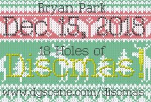 18 Holes of Discmas! graphic