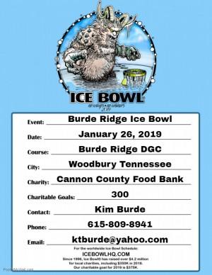 Burde Ridge Ice Bowl graphic