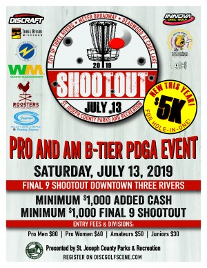 St. Joseph County Parks & Recreation Shootout graphic