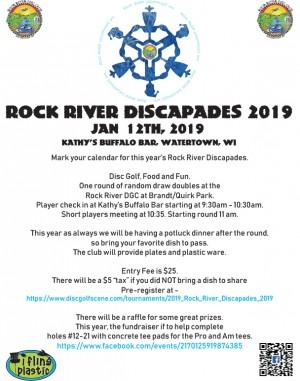 2019 Rock River Discapades graphic