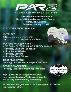 Par2 Fundraiser powered by Prodigy graphic