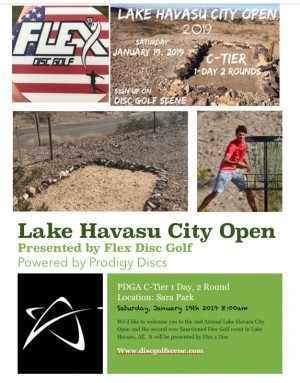 2nd Annual Lake Havasu City Open graphic