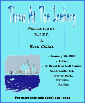 Throw at the Iceberg graphic